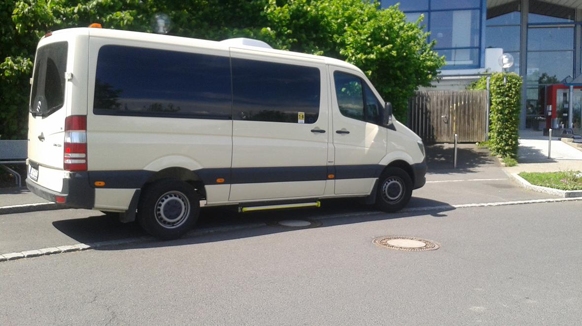 Taxi Olm Bad Rodach - Daimler Bus